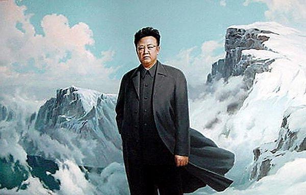 kim-jong-il-propaganda-posters-09-snowy-mountains