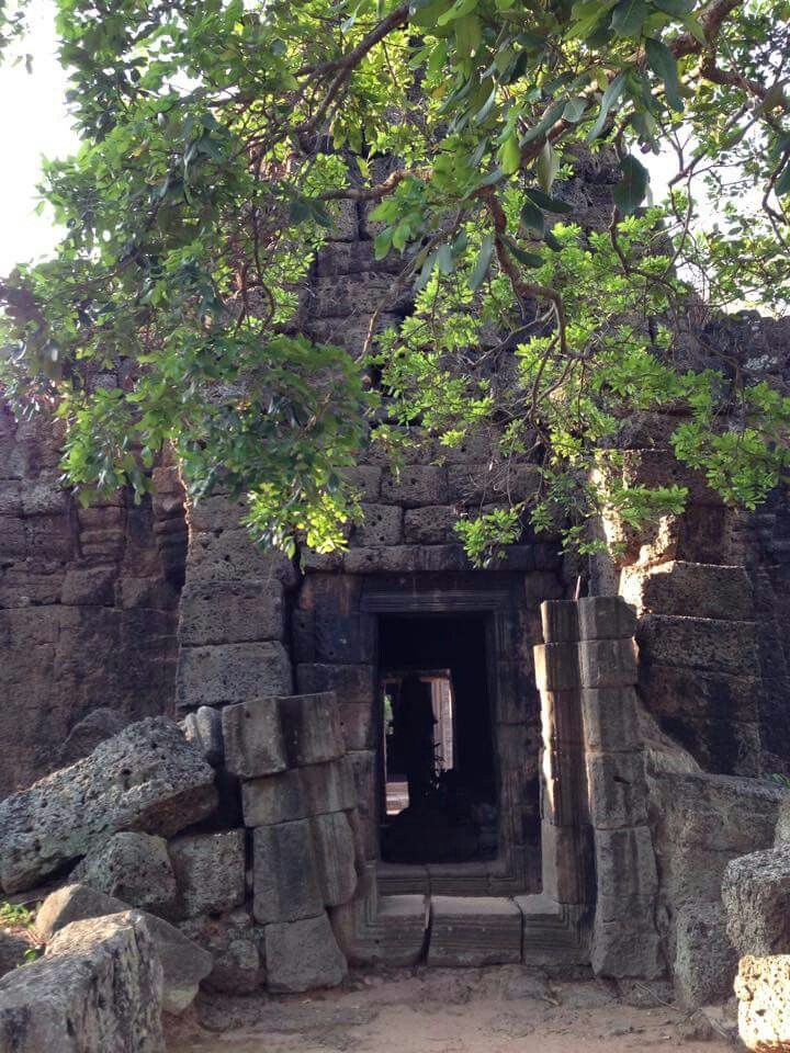Taprum Temple at Tonle Bati Takeo Province of Cambodia.