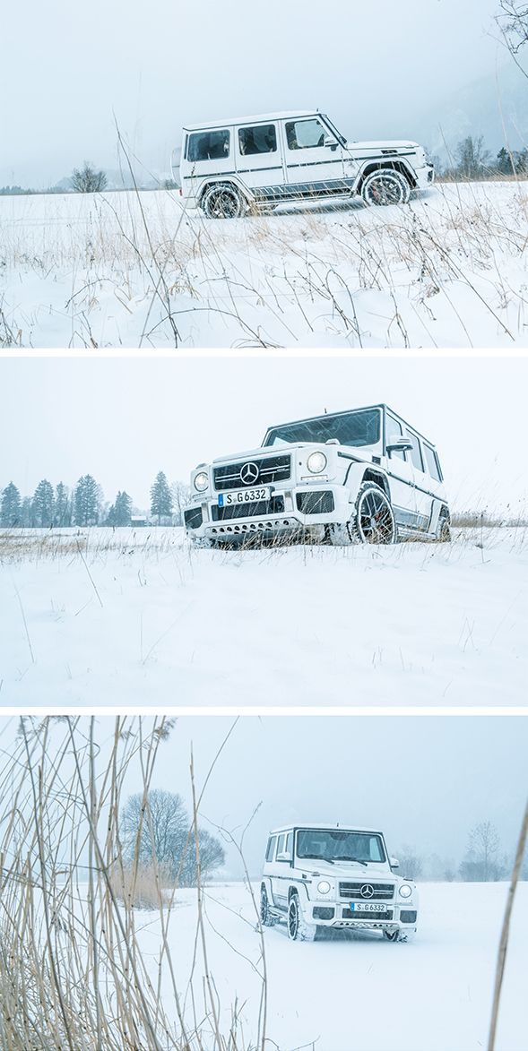 Do you still have snow where you are? The Mercedes-AMG G-Class