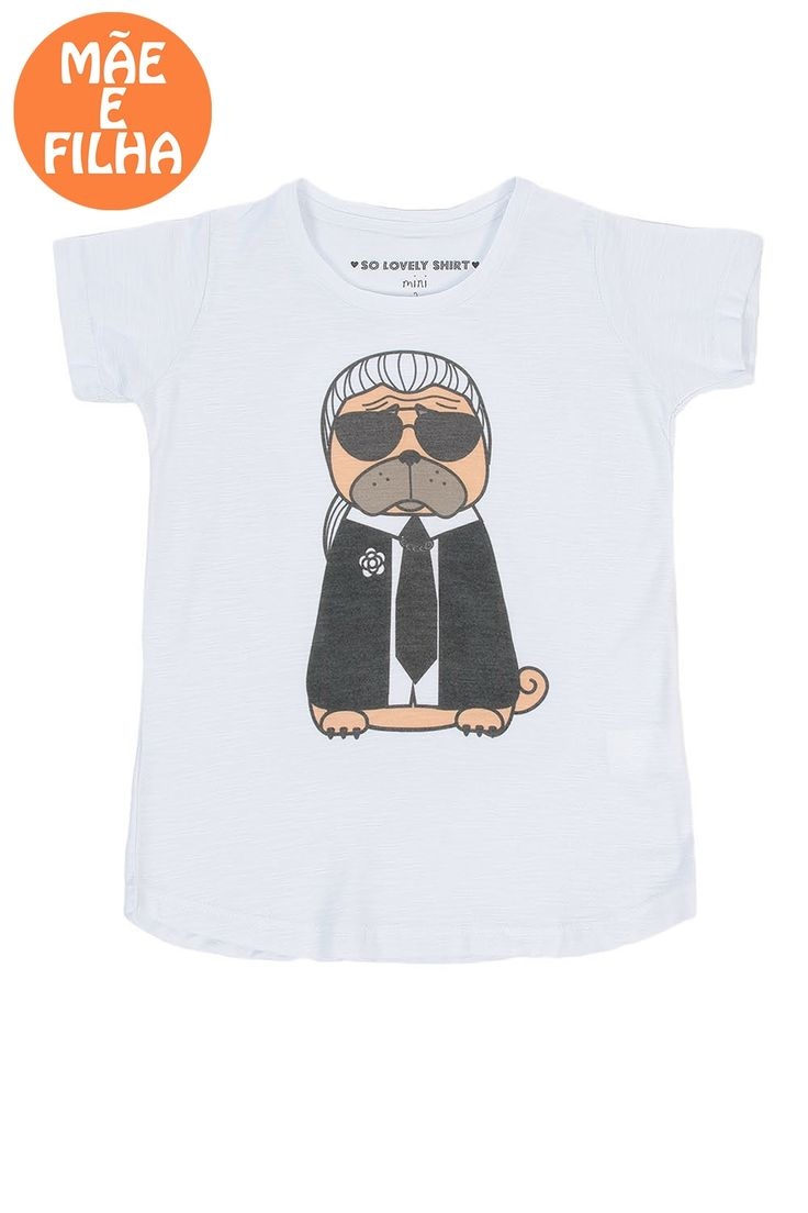 So Lovely Shirt T-shirt Pug   e-Closet