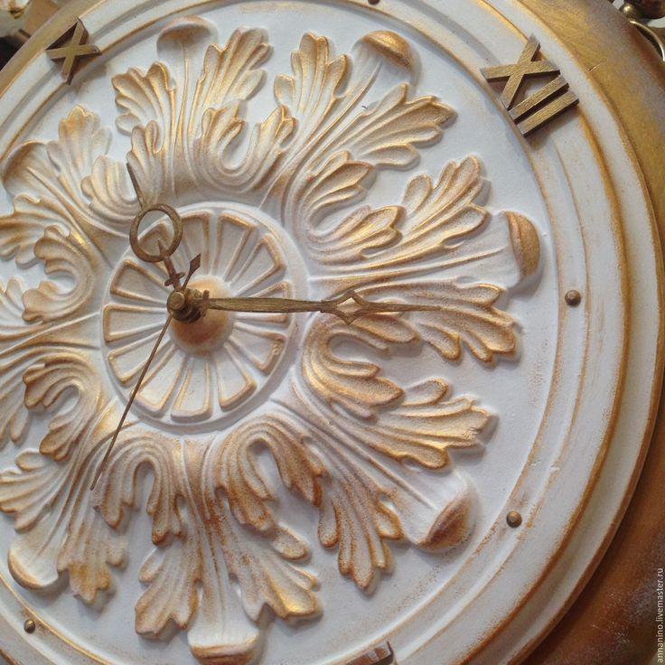Купить Настенные часы Белая магия - настенные часы, часы, часы настенные, часы интерьерные