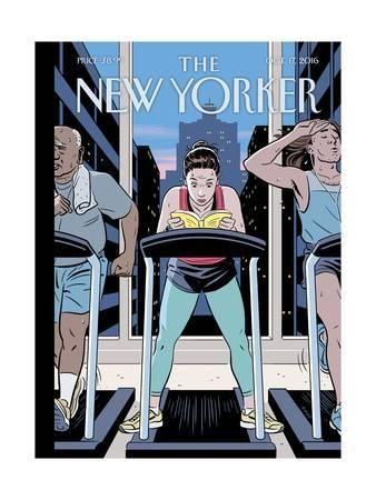 The New Yorker Cover October 17 2016 Premium Giclee Print R Kikuo Johnson Art Com In 2021 New Yorker Covers The New Yorker Comic Books Art