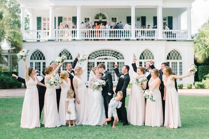 Jordan & Pearce's perfect southern wedding at the Lowndes Grove Plantation  | Charleston, SC | Photo by Aaron and Jillian Photography