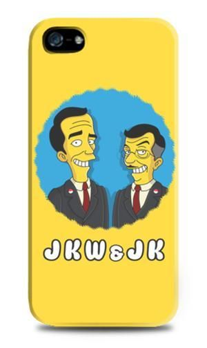 The most circulated tweet of the day on 20 October 2014 - inauguration day for Indonesia's new President Jokowi Widodo - is this image of the President and his Deputy Jusuf Kalla as Simpsons characters.