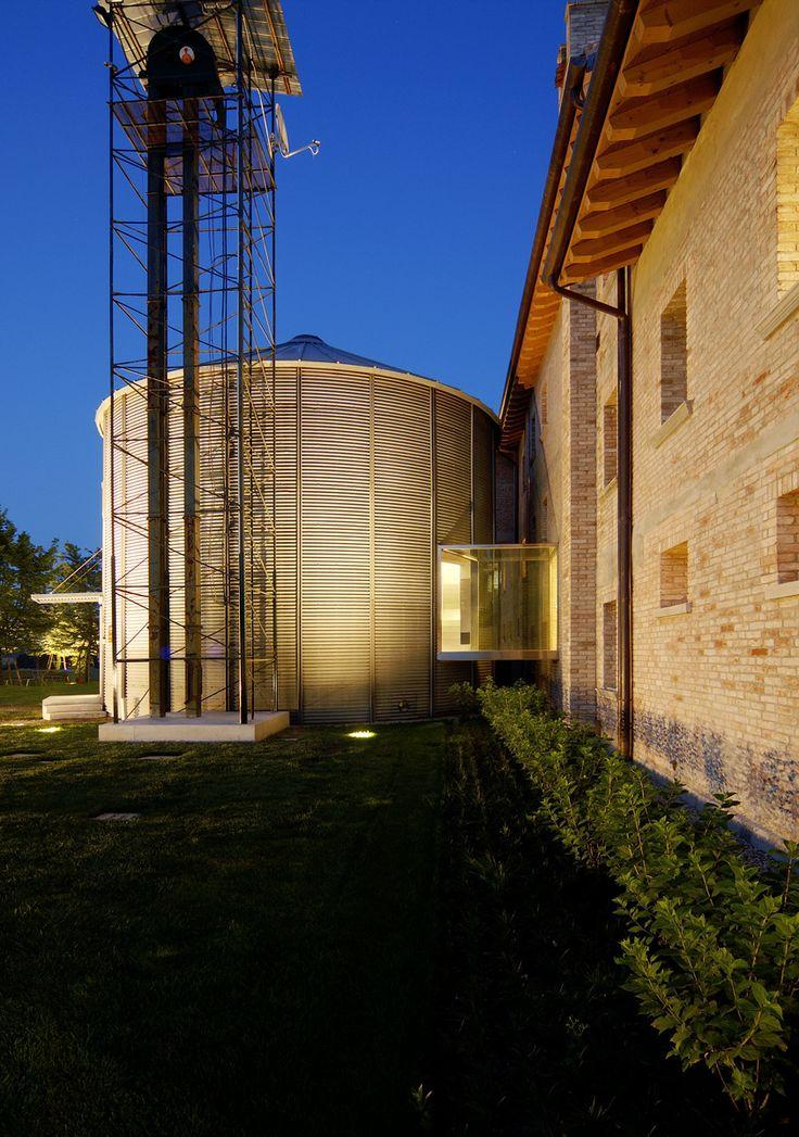 H-farm #silos #startup #bricks #circle