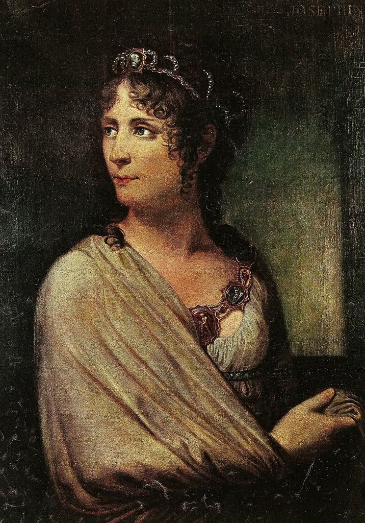 Josephine de Beauharnais by Andrea Appiani. She was the caribbean wife of Napoleon.