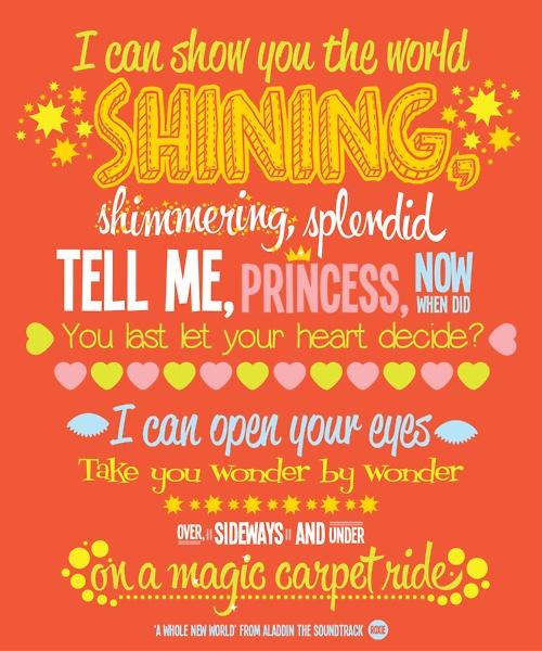 Aladdin Central - Lyrics