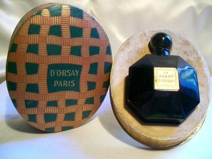 "D'ORSAY ""LE DANDY"" FLACON DE PARFUM 1922 BACCARAT VINTAGE PERFUME BOTTLE in Collections, Parfums, Flacons   eBay"