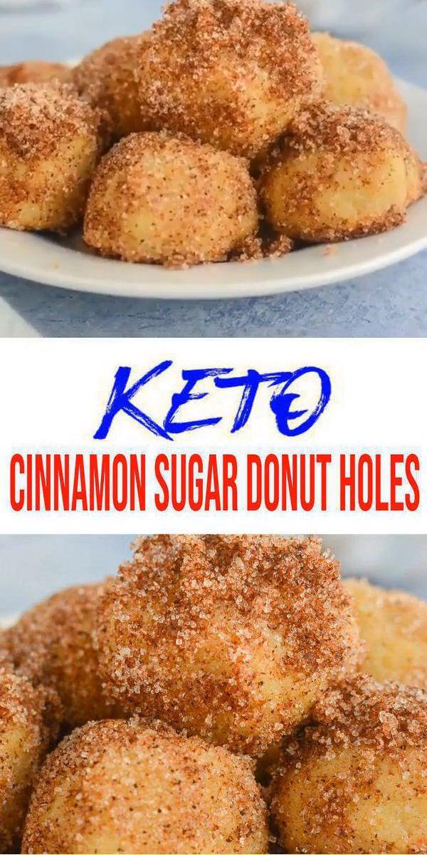 Keto Donuts  u2013 Super Yummy Low Carb Donut Holes Rezept  u2013 BESTE Zimt …   – Hairstyle