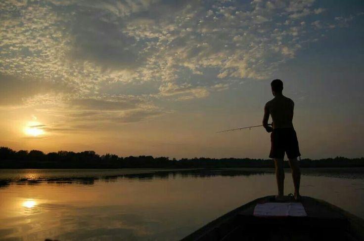 Fishing by sundown