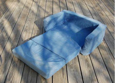 Como hacer sofa cama para niños-Dia del niño