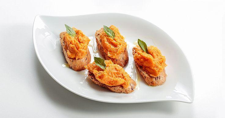 Korianderes sült sárgarépa szendvicskrém recept