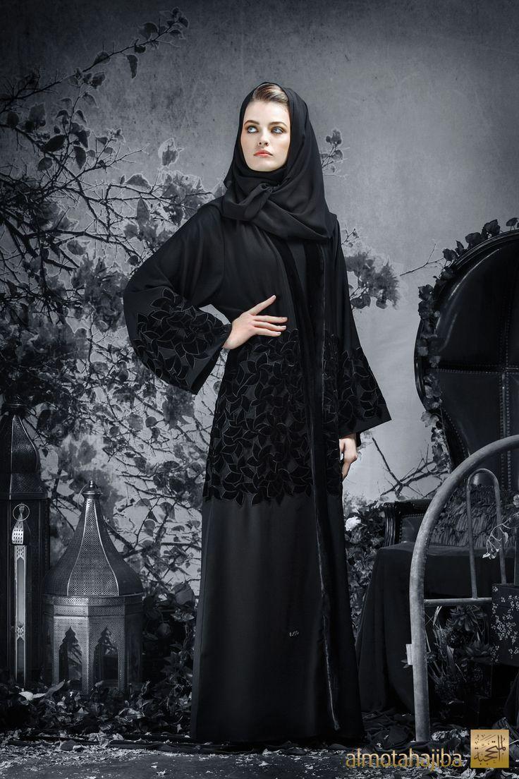 Abaya by Almotahajiba. Winter Collection 2013-2014.