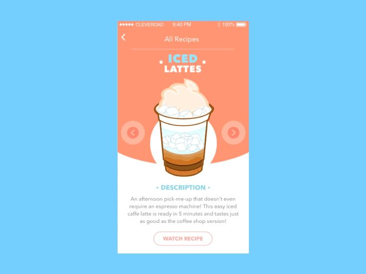Coffee Recipes App