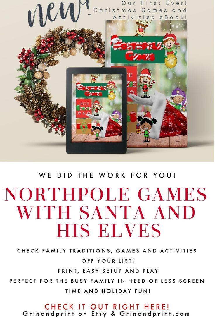Christmas Games Printable Christmas Activities Xmas Party Etsy In 2020 Printable Christmas Games Fun Holiday Games Christmas Activities For Kids