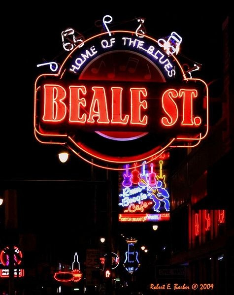 BEALE STREET ~ Home of the Blues ~ Memphis