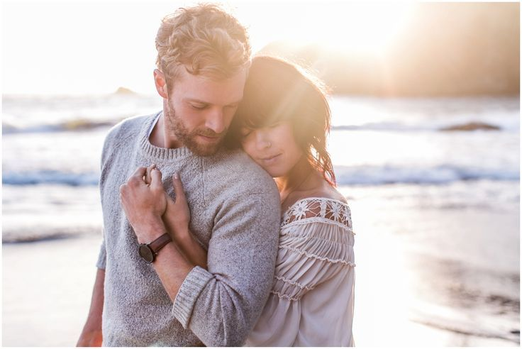 West Coast Engagement shoot by Carolyn Marie Photography, edited with Mastin Labs Fuji 160NS film emulation preset.