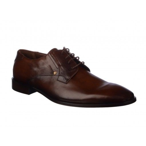 Pantofi Le Colonel maro, din piele naturala