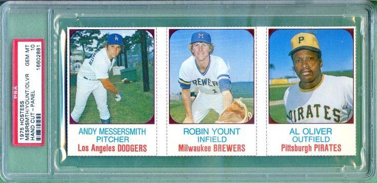 robin yount rookie baseball card