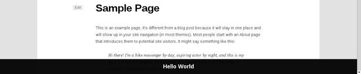 Sticky Footer Bar For WordPress Showing Random Post From A Given Category