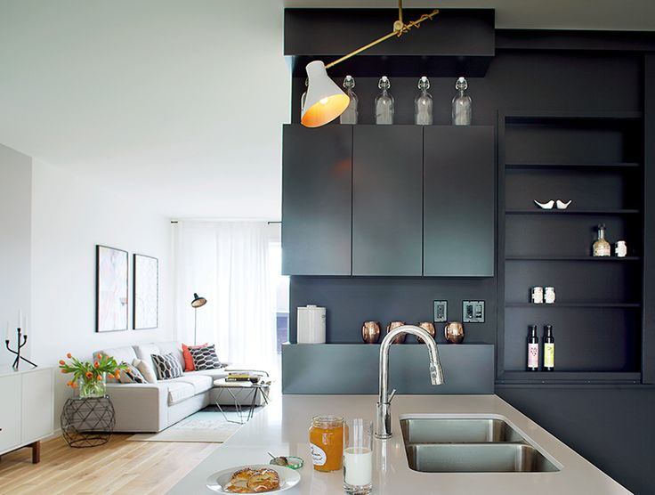 Une maison au style scandinave | CHEZ SOI Photo: ©TVA Publications | Yves Lefebvre #deco #maison #scandinave #visiteguidee #cuisine