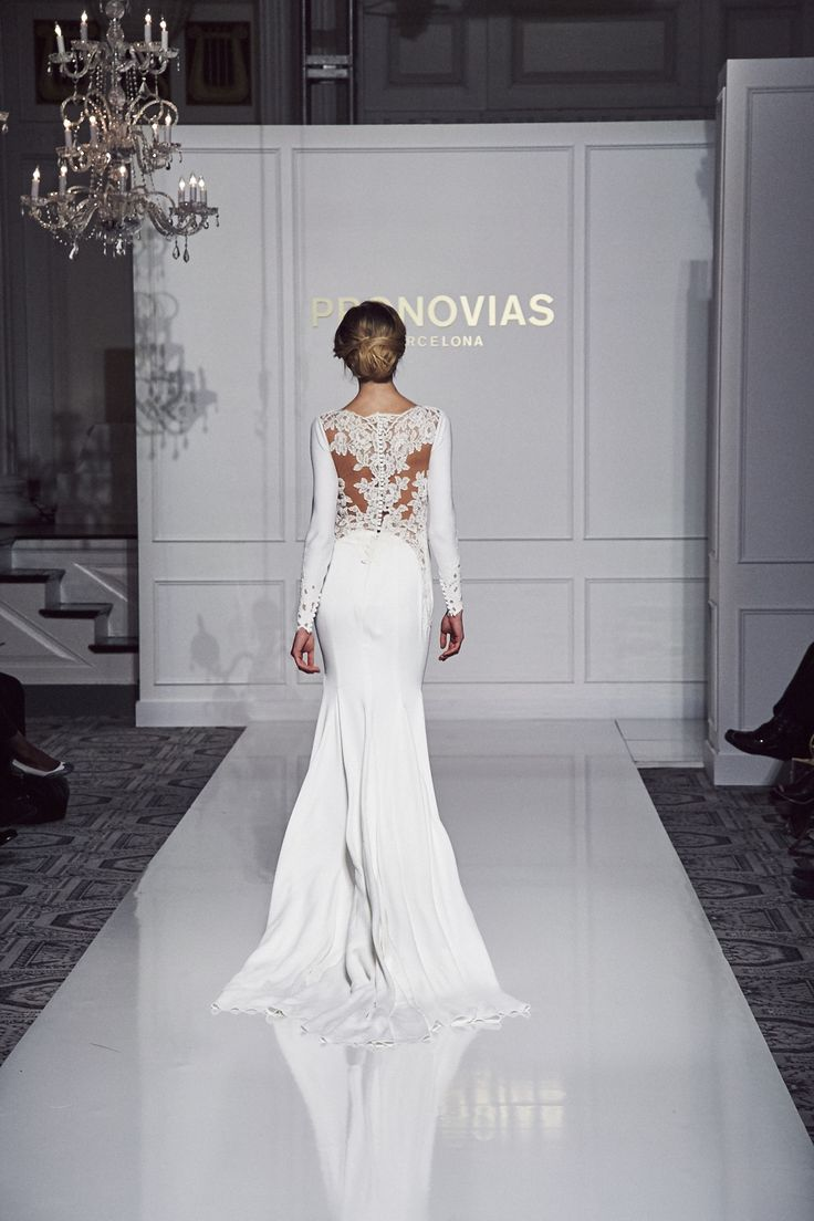 Vania style from Atelier Pronovias 2016 Collection.