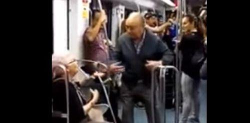 VÍDEO | Adorable video de pareja de ancianos bailando un rap:...