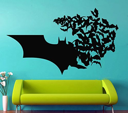 Best Batman Wall Art Ideas On Pinterest Batman Room Batman - Wall vinyl stickers