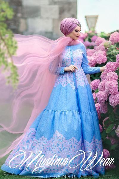 Muslima Wear 2016 - Fiore Indigo Dress