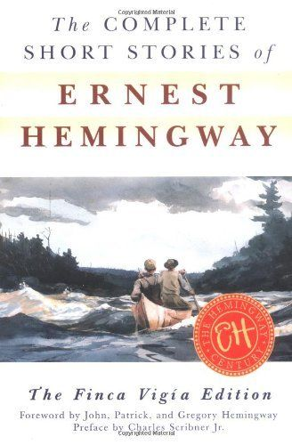 The Complete Short Stories of Ernest Hemingway: The Finca Vigia Edition by Ernest Hemingway, http://www.amazon.com/dp/0684843323/ref=cm_sw_r_pi_dp_rIWGpb1N4V8G1