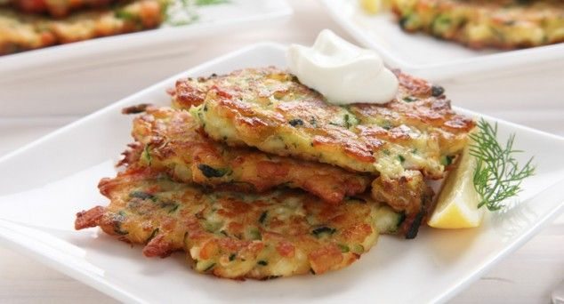 You'd better make double - these Zucchini and Haloumi Fritters will be gobbled up in seconds!