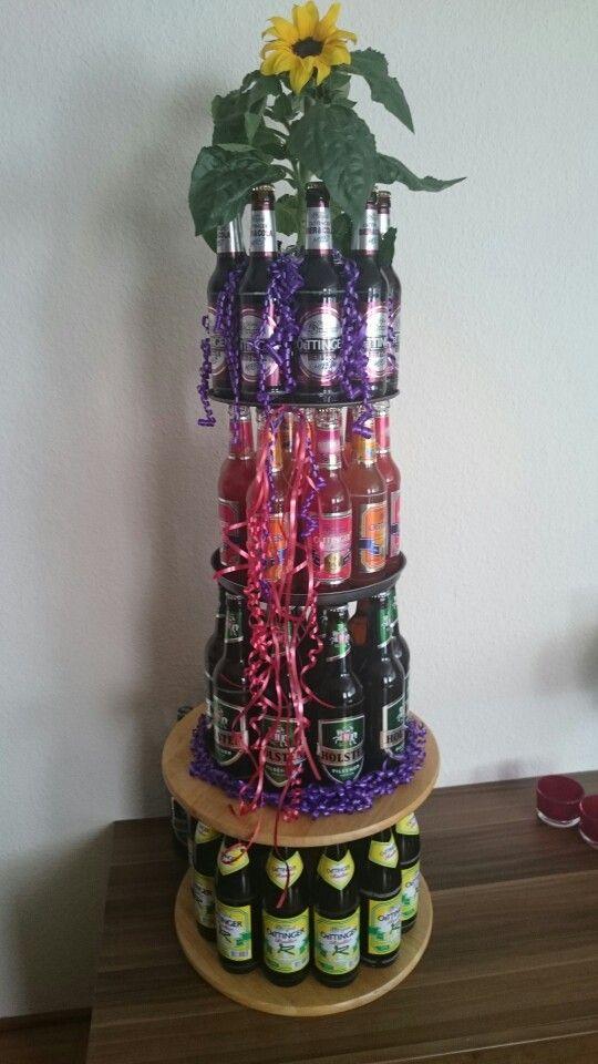 Wernau  Geburtstag  Bierflaschen Sigkeiten geschenk