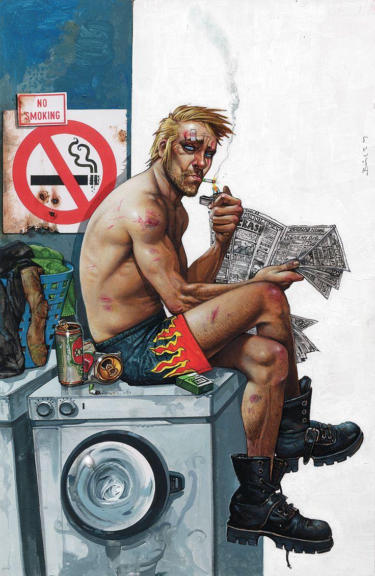 Hellblazer (Simon Bisley).