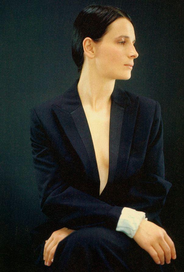 Juliette Binoche photographed by Jean-Baptiste Mondino for Premiere magazine, 1998.