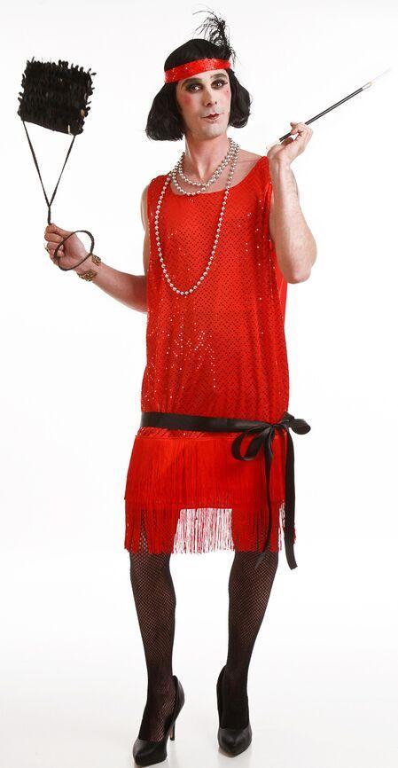 disfraz de charleston rojo hombre al ritmo de