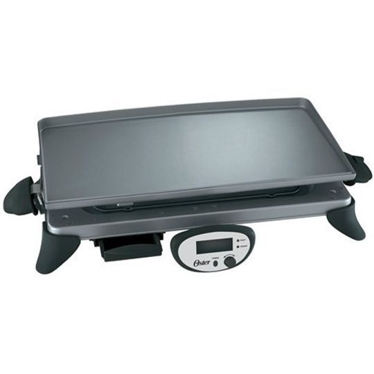 Oster CKSTGRRD25 Digital Griddle with Removable Plate
