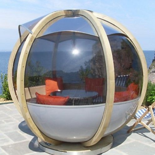 17 best images about garden pod on pinterest gardens for Outdoor pod room