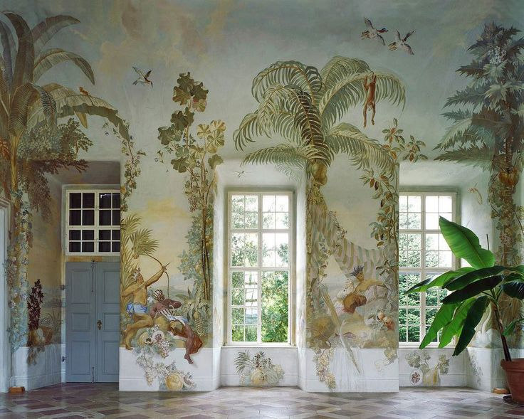 Amazing Gartenpavillon Stift Melk Wall Murals By Johann Baptist, Wenzel Bergl.  Photo By Margherita Spiluttini Awesome Ideas