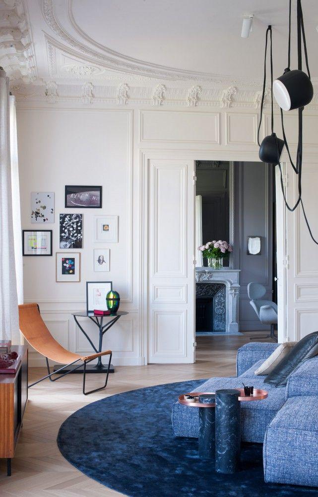 Diaporama : L'appartement parisien de Rodolphe Parente