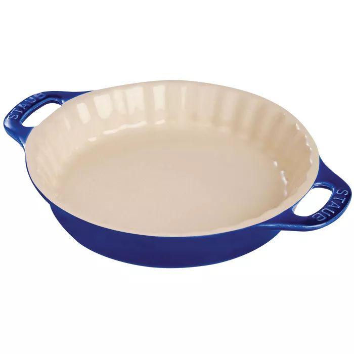 Staub Ceramic 9 Inch Pie Dish White In 2020 With Images Pie Dish