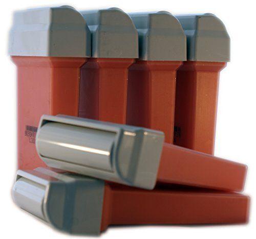 EPILWAX S.A.S Cartouche de Cire 50 ml Recharge 6 Pièces Compatibles avec Veet EasyWax Price:     - LOT de 6 recharges 100 ml de cire à épiler ROSE. Pour une utilisation sur les Peaux Sensible. Ingredien...
