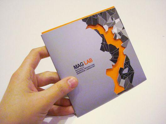 MAG LAB Interactive Portfolio CD by Dina Saadi, via Behance