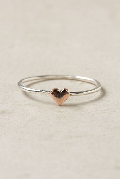 sweet little ring from anthro