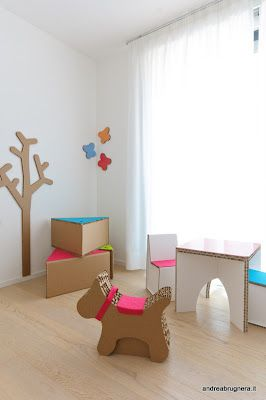 Would you buy SmartDeco for your kids? #cardboard furniture is light and sturdy plus they can build it and decorate it on their own!