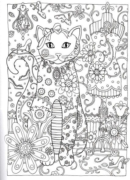 31 besten Criative Cats para colorir Bilder auf Pinterest   Katzen ...