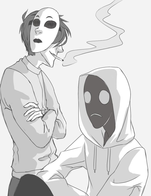 ●●● Masky and Hoodie