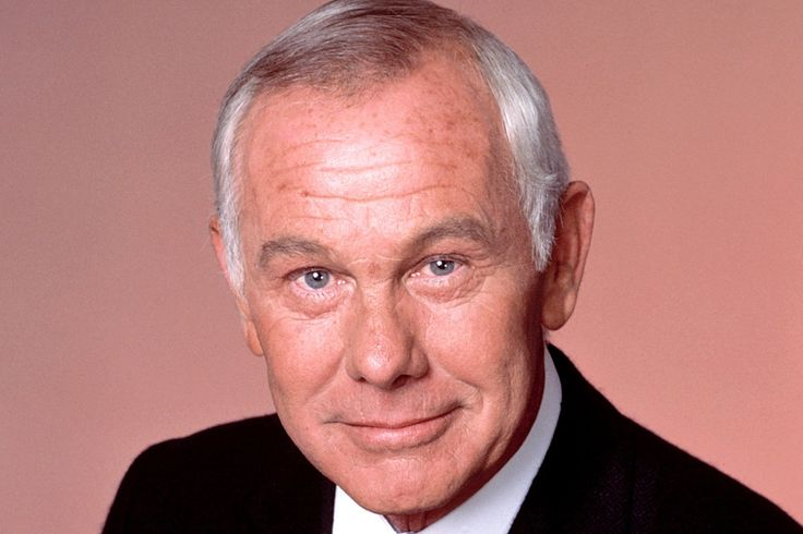 Johnny Carson - Legendary television host -, Carson was a former ensign to the U.S. military. Following training, was called for duty on what ended up being the last day of the war