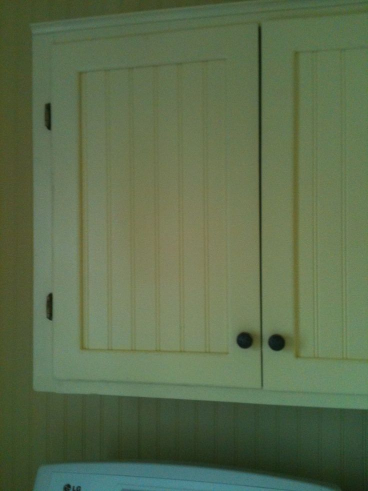 We Used The Old Cabinet Doors , But Cut Out The Middle And
