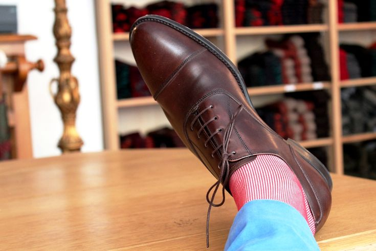 Gallo socks and Fitzpatrick shoes