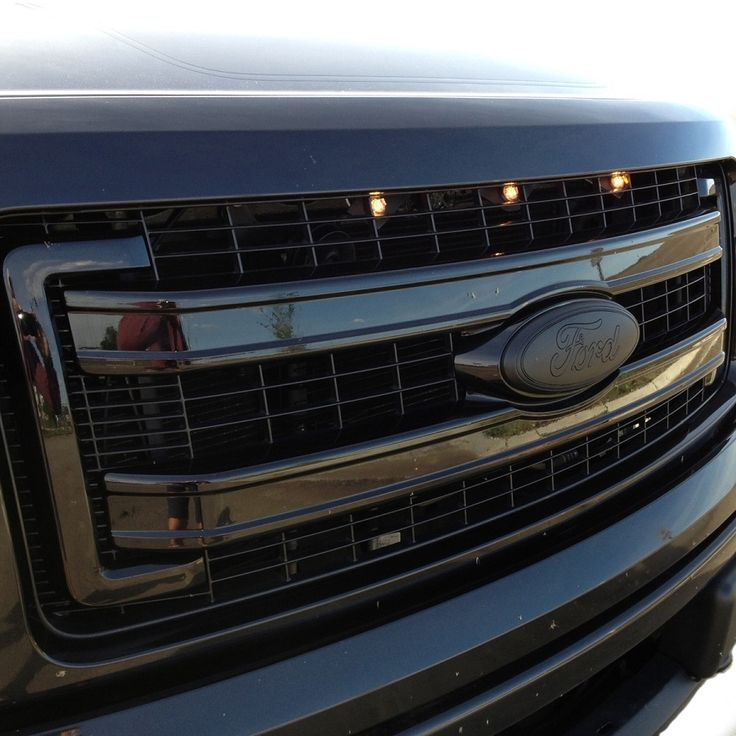 13 14 F150 Caw Raptor Style Amber Grille Lights 201314 Rsglk F150 Ford F150 Accessories F150 Accessories